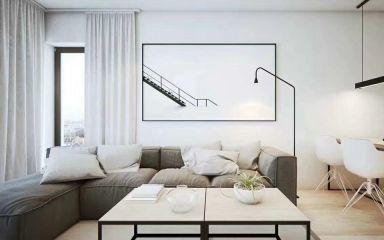 88平北欧风格三居室装修效果图
