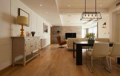 144平简约风格三居室装修效果图