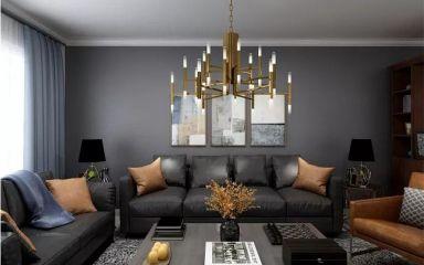 78平北欧风格两居室装修效果图