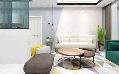 北欧客厅沙发室内装修设计