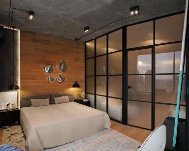 2021混搭卧室装修设计图片 2021混搭背景墙图片