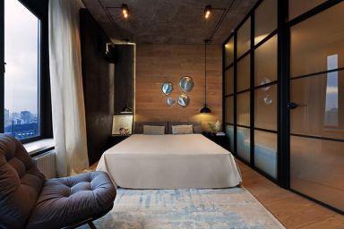 2021混搭卧室装修设计图片 2021混搭窗帘装修效果图片