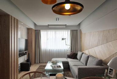 83平欧式风格两居室装修效果图