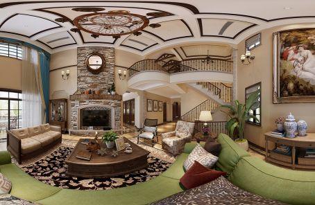 430平美式风格别墅装修效果图