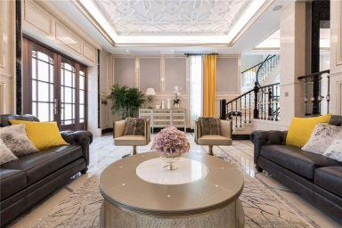 800平欧式风格别墅装修效果图