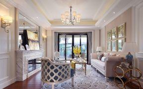 155平欧式风格四居室装修效果图