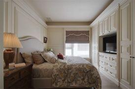 创意卧室美式装修案例图片
