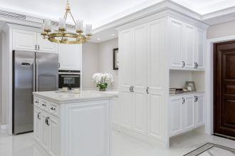 厨房厨房岛台法式风格装潢效果图