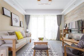 97平日式风格两居室装修效果图