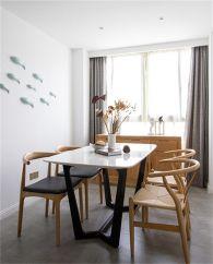 餐厅餐桌日式风格装饰图片