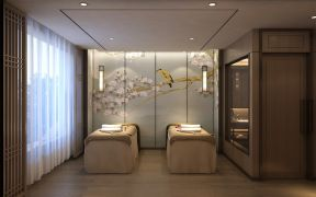 新中式风格美容院装修效果图