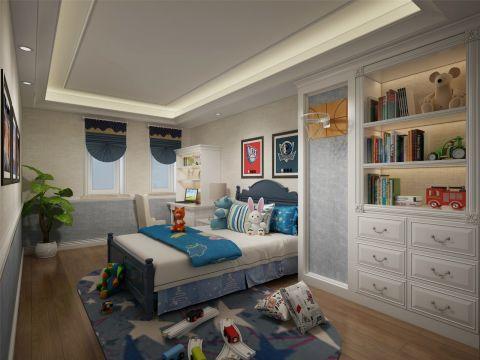 儿童房吊顶简欧风格装饰图片