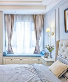 时尚卧室美式装饰设计图片