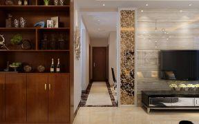混搭客厅走廊装修设计