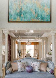 欧式客厅沙发设计方案