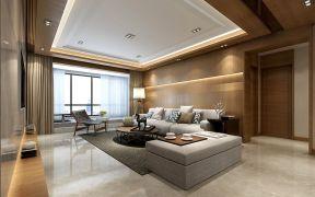 274平新中式风格三居室装修效果图