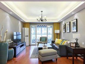 130平现代简约风格楼房装修效果图