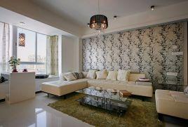 137平现代风格楼房装修效果图
