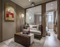 76平简约风格两居室装修效果图
