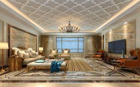 327平欧式风格四居室装修效果图