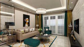 2019现代110平米装修设计 2019现代楼房图片