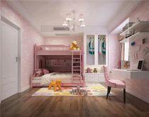 儿童房床新中式风格装饰效果图