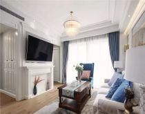 客厅窗帘现代U乐国际装饰图片