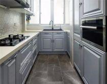 厨房橱柜现代U乐国际装饰设计图片