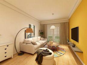 70平简约风格三居室装修效果图
