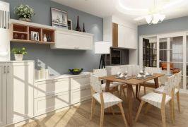 餐厅餐桌北欧U乐国际装潢设计图片