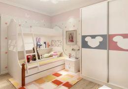 儿童房床北欧U乐国际u乐娱乐平台图片