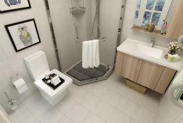 卫生间洗漱台北欧风格装修设计图片