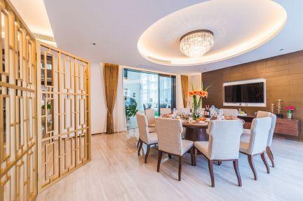 餐厅餐桌现代U乐国际装潢图片