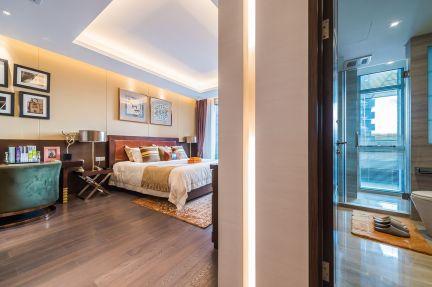 卧室背景墙现代U乐国际装饰设计图片