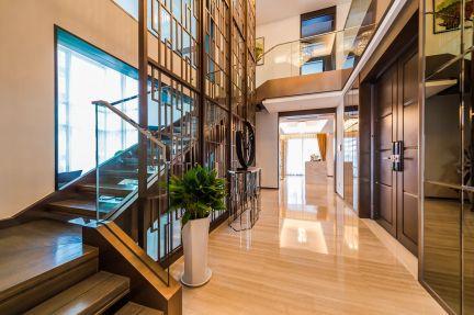 玄关楼梯现代U乐国际装潢设计图片