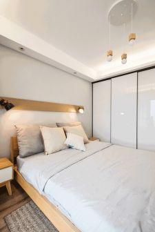 卧室吊顶北欧风格装修效果图