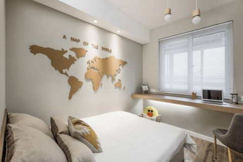卧室书桌北欧U乐国际装饰优乐娱乐官网欢迎您