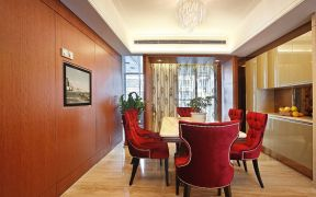 餐厅餐桌简约U乐国际装潢设计图片