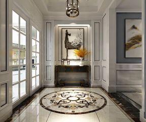 玄关背景墙u乐国际娱乐城U乐国际装饰设计图片