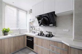 厨房橱柜现代简约U乐国际装饰图片