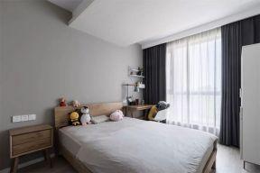 卧室窗帘现代简约U乐国际u乐娱乐平台设计图片