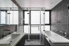 卫生间洗漱台现代简约U乐国际装潢设计图片