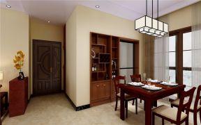 餐厅博古架新中式风格装修效果图