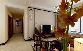 客厅电视背景墙新中式U乐国际u乐娱乐平台图片