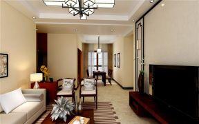 客厅沙发新中式U乐国际装饰图片