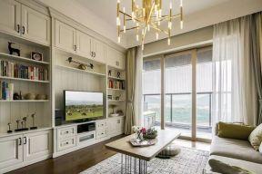 客厅窗帘简约U乐国际装饰设计图片