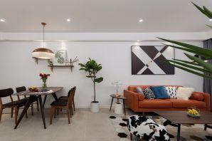 客厅白色背景墙效果图图片
