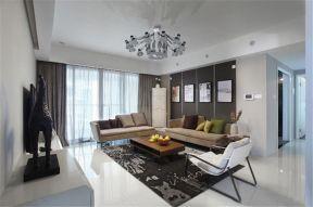 120平现代简约风格楼房装修效果图