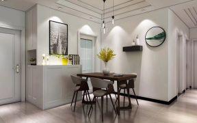 温馨餐厅餐桌设计图片