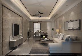 166平现代风格四居室装修效果图